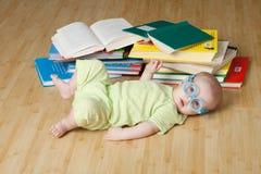 mały czytelnik Fotografia Stock
