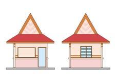 mały dom ilustracja wektor