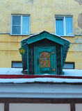 Mały Dom Karlsson na dachu. St. Petersburg, Rosja. Obrazy Royalty Free
