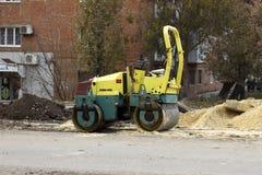 Mały drogowy rolownik Fotografia Royalty Free