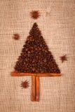 Mały drzewo kawowe fasole Zdjęcia Royalty Free