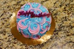 Mały dwa kolorów tort Zdjęcia Stock