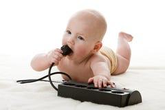 mały dziecko cukierki Zdjęcie Royalty Free