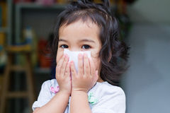 Mały dziecko gag Zdjęcie Stock