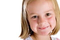 mały dziewczyna cukierki Fotografia Royalty Free