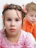 mały dziewczyna portret Obrazy Stock