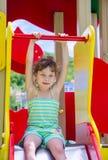 mały dziewczyny boisko Obrazy Royalty Free