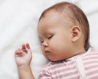 mały dziewczyny dosypianie Zdjęcie Stock