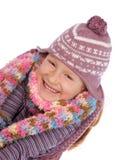 mały dziewczyny happ fotografia stock