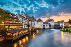 Mały Francja w Strasburg, Francja obraz stock