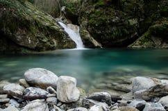Mały halny jezioro Fotografia Royalty Free
