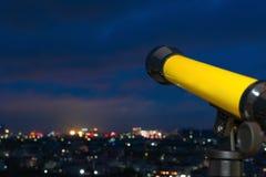 Mały i prosty teleskop Fotografia Stock