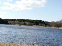 Mały jezioro Sandy Zdjęcie Royalty Free