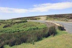 Mały kamienia most Exmoor Devon Anglia Zdjęcia Stock