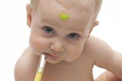 mały malarz Zdjęcie Stock