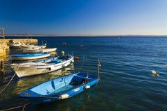 Mały marina w Adriatic morzu Obrazy Royalty Free