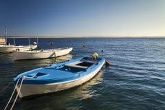 Mały marina w Adriatic morzu Obrazy Stock
