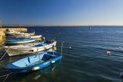 Mały marina w Adriatic morzu Fotografia Stock
