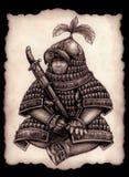Mały Mongolski gubernator wojskowy Zdjęcia Stock