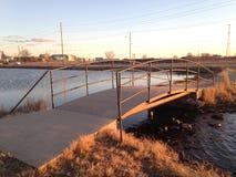 mały mostu Obrazy Royalty Free