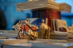 Mały motocykl w Cracow obrazy stock