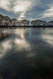 mały nad jezioro Obrazy Royalty Free