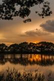 mały nad jezioro Obraz Royalty Free