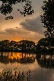 mały nad jezioro Zdjęcie Royalty Free