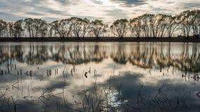 mały nad jezioro Fotografia Royalty Free
