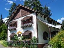 Mały niemiec dom Zdjęcie Stock