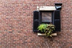Mały okno Zdjęcie Stock