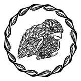 Mały ozdobny ptak Zdjęcie Stock