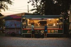Mały piekarnia sklep Fotografia Stock