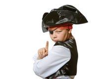 mały pirat Zdjęcia Royalty Free