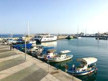 Mały port Zdjęcie Stock