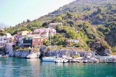 Mały port Maratea Zdjęcie Royalty Free
