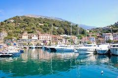 Mały port Maratea Fotografia Royalty Free