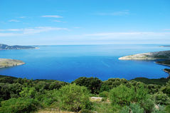 Mały port w Adriatyckim morzu Obraz Stock