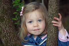 mały portret dziewczyny Obrazy Royalty Free