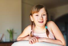 mały portret dziewczyny Fotografia Royalty Free