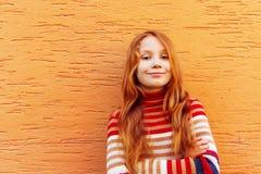 mały portret dziewczyny Zdjęcia Royalty Free
