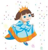 Mały princess ilustracji
