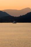 Mały prom, Zachodni Vancouver, BC Fotografia Stock
