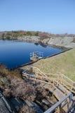 Mały rezerwat wodny Zdjęcia Royalty Free