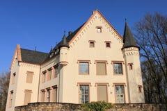 Mały rezydencja ziemska dom Zdjęcia Royalty Free