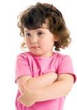 mały ringlet dziewczyny obraz royalty free