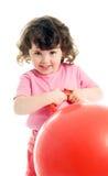 mały ringlet dziewczyny Zdjęcia Stock