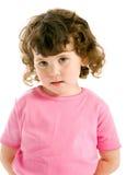 mały ringlet dziewczyny zdjęcie stock