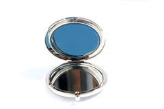 Mały round szklany lustro Obraz Royalty Free