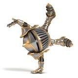Mały rycerza akrobata Obrazy Stock